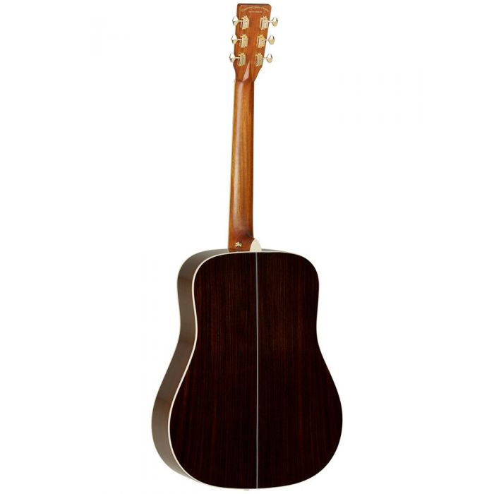 Back of Tanglewood TW1000 H SR Dreadnought Acoustic Guitar