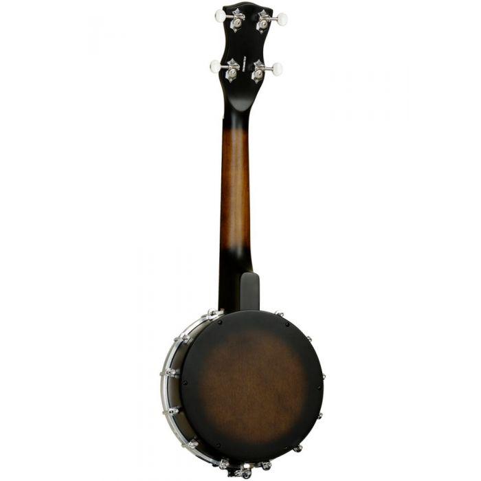 Back of Tanglewood TWBU Banjo Ukulele