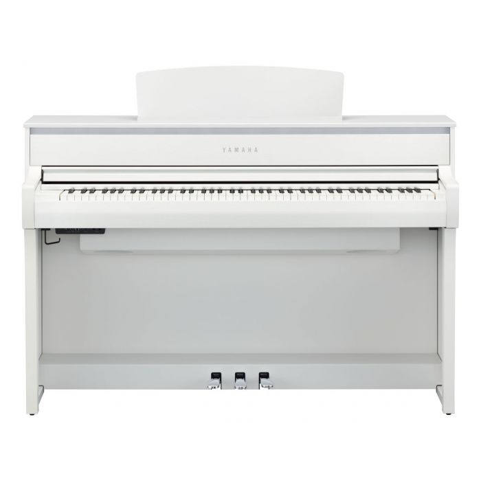 Yamaha CLP-775 Digital Piano White Front On