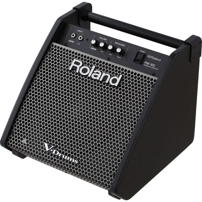 Roland PM-100 Drum Monitor Angle