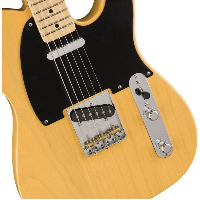 Fender American Original '50s Telecaster Butterscotch Blonde Body Detail