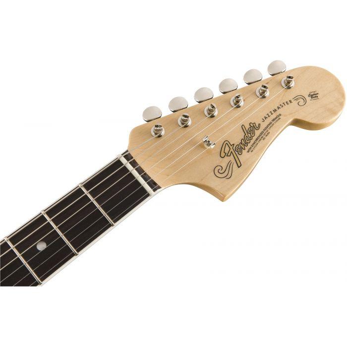Fender American Original '60s Jazzmaster 3-Colour Sunburst Headstock