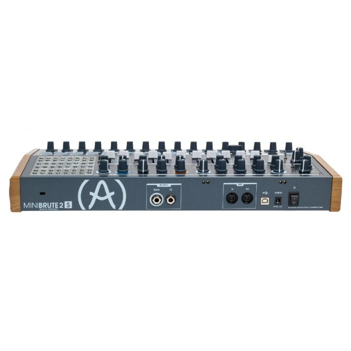Arturia Minibrute 2S Modular Sequencer Synthesizer Rear
