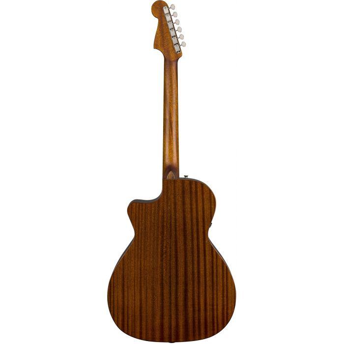 Fender Newporter Classic Hot Rod Red Metallic Back
