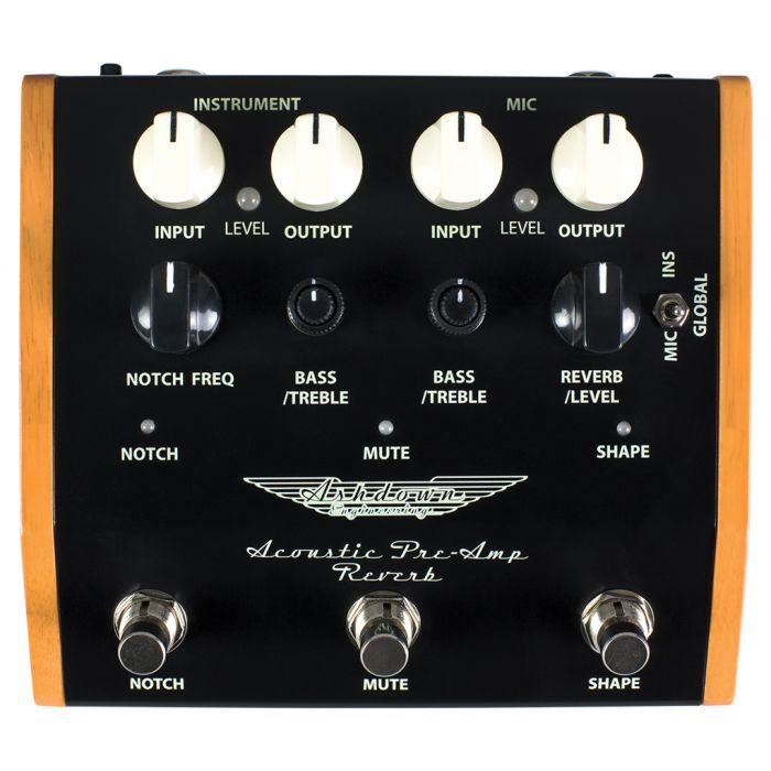 Ashdown Woodsman-Pedal-R Acoustic Pre Amp Pedal