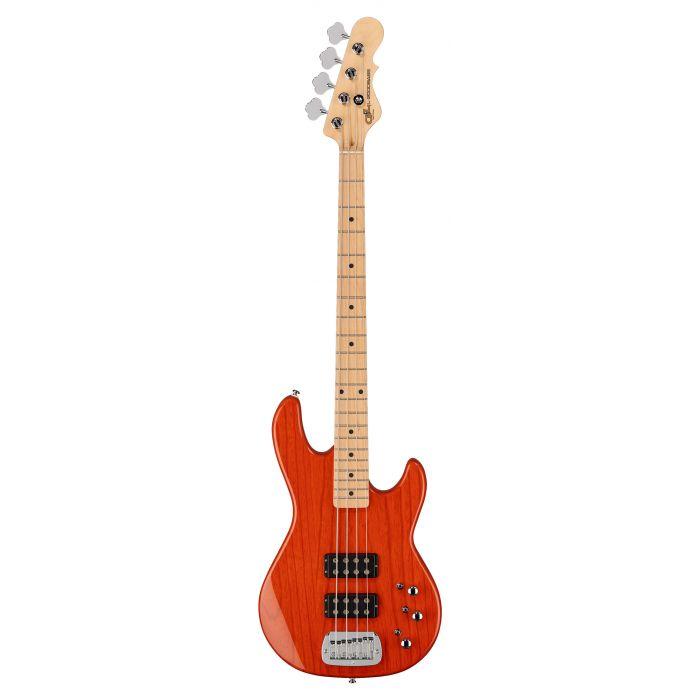 G&L Tribute L-2000 Bass Clear Orange Maple Fingerboard