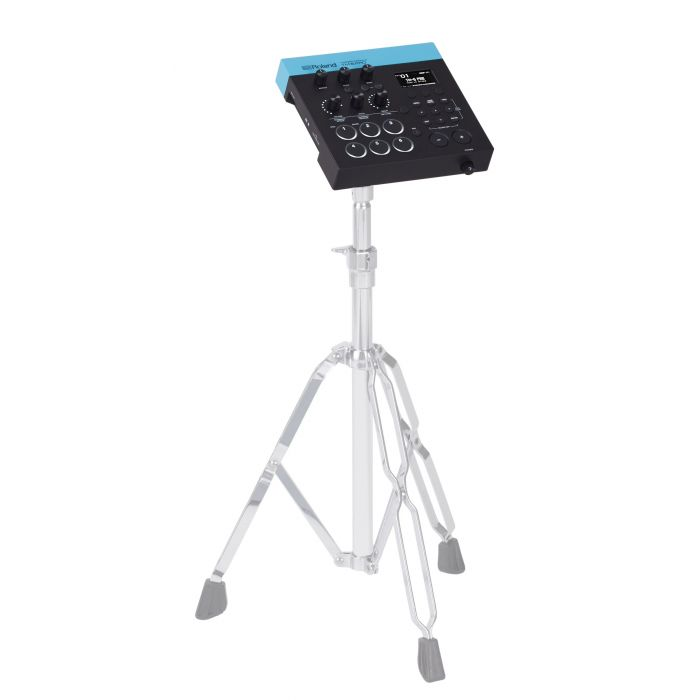 Roland TM-6 PRO Trigger Module On A Stand