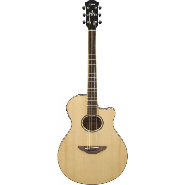 Yamaha APX 600 Electro-Acoustic Guitar Natural Front