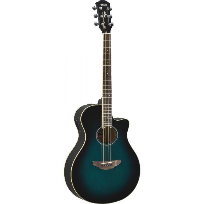 Yamaha APX 600 Acoustic Guitar Oriental Blue Burst