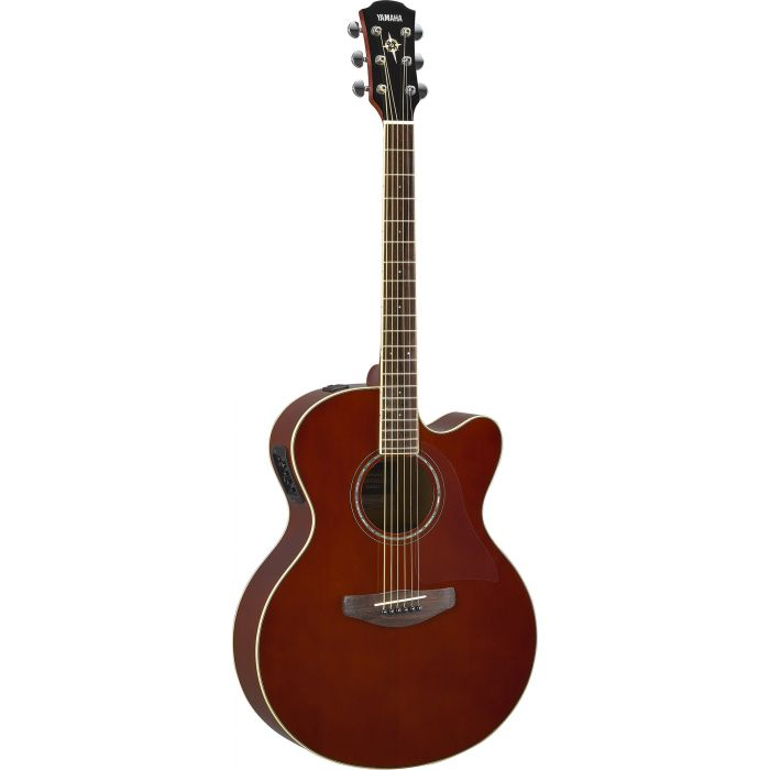 Yamaha CPX 600 Electro-Acoustic Guitar Root Beer