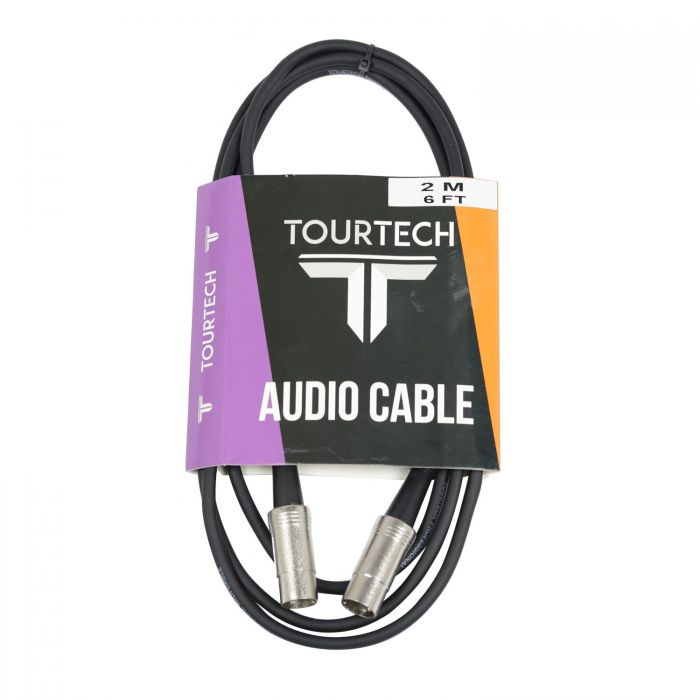 TOURTECH 6ft  Injunction Style MIDI Cable
