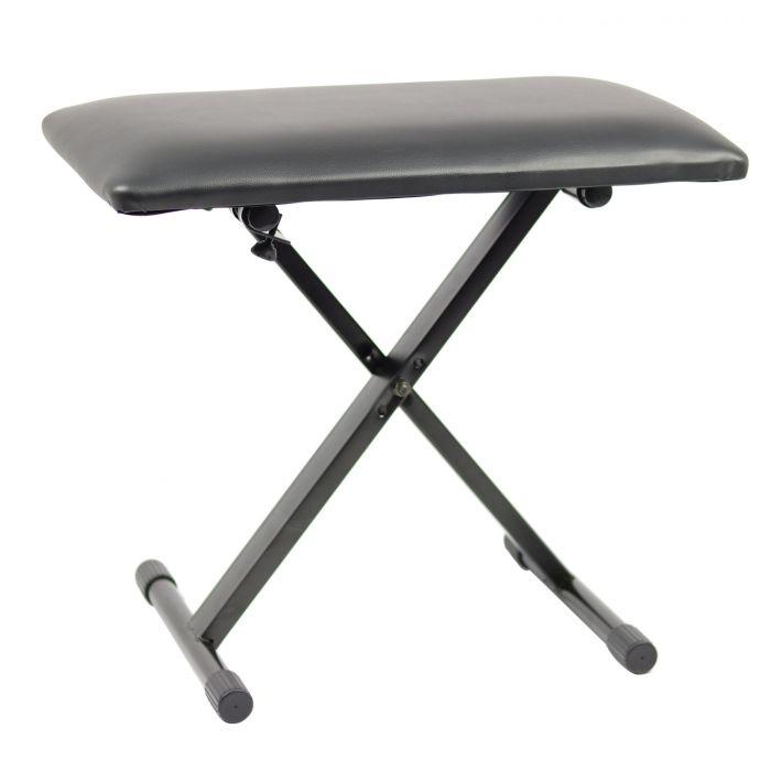 TOURTECH TTBE-KA20 Adjustable X-Style Keyboard Bench