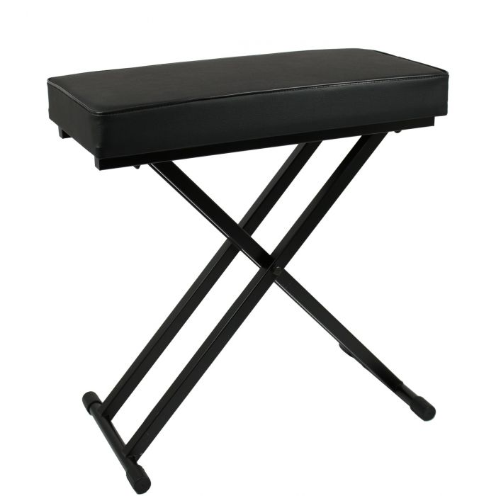 TOURTECH TTBE-KA60 Double Braced Adjustable X-Style Keyboard Bench