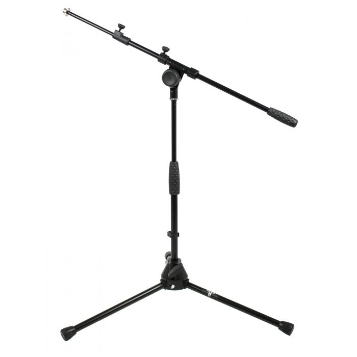 TOURTECH Low Profile Telescopic Microphone Boom Stand