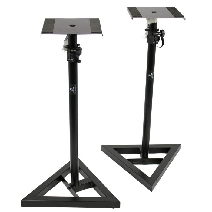 TOURTECH TTS-MO10 2 Height Adjustable Studio Monitor Stands