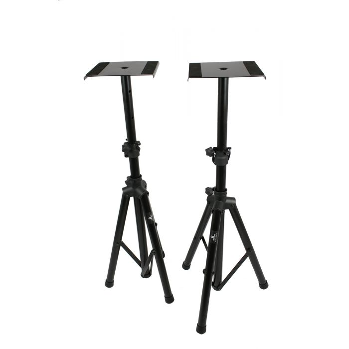 TOURTECH TTS-MO20 2 Height Adjustable Studio Monitor Stands