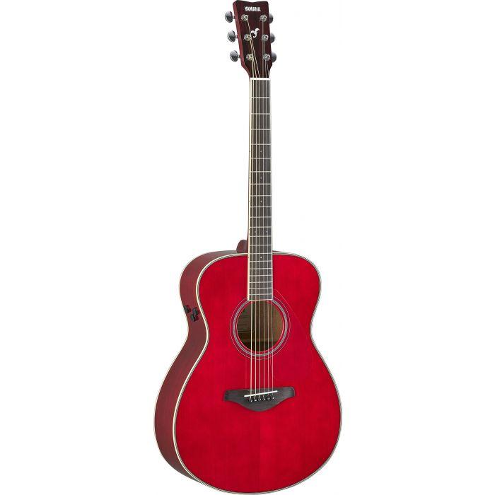 Yamaha FS-TA TransAcoustic Guitar Red