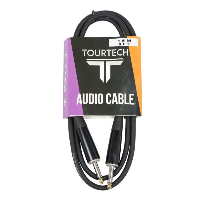 TOURTECH 5ft Speaker Cable Jack to Jack 16 Gauge