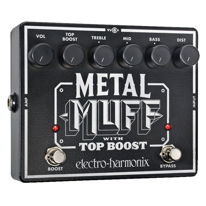 Electro-Harmonix Metal Muff Distortion Guitar Effects Pedal