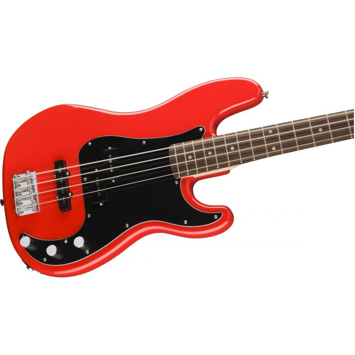 Squier Affinity Precision Bass PJ Red Body
