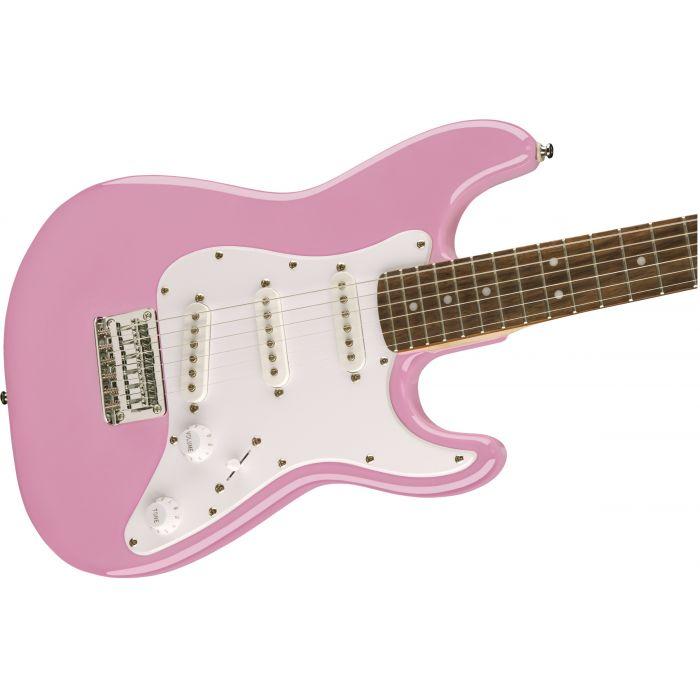 Squier Mini Strat Pink Body