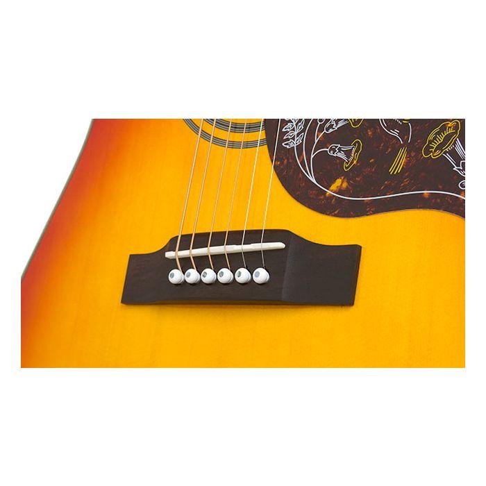 Epiphone Hummingbird Pro Electro Acoustic, Faded Cherry