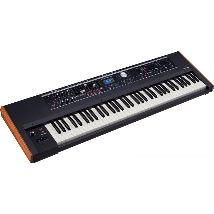 Roland V-Combo VR-730 Keyboard Front Angle