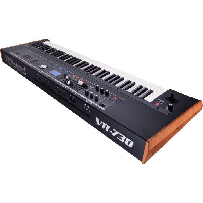 Roland V-Combo VR-730 Keyboard Rear Angle