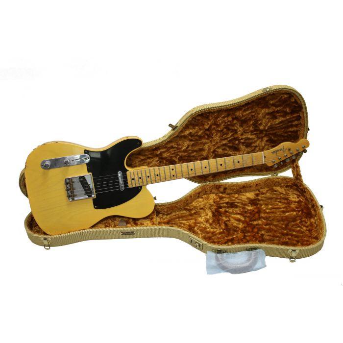 Fender Custom Shop '51 Nocaster Relic Left Handed Blonde