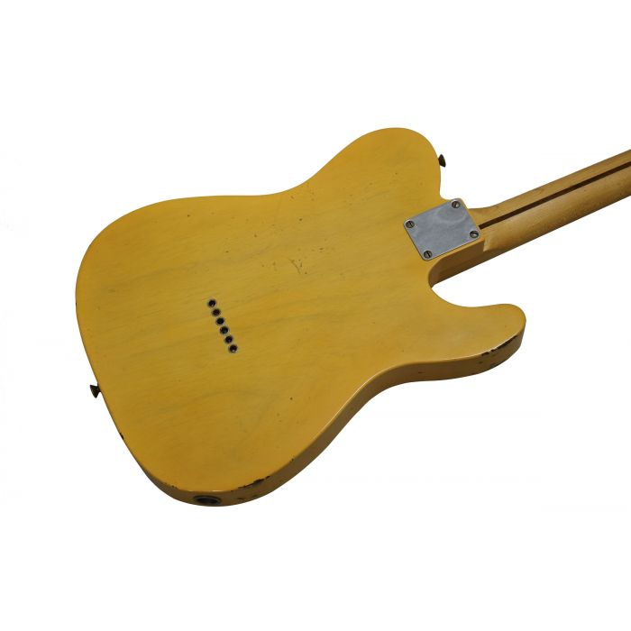Fender Custom Shop '51 Nocaster Relic Left Handed Blonde Back