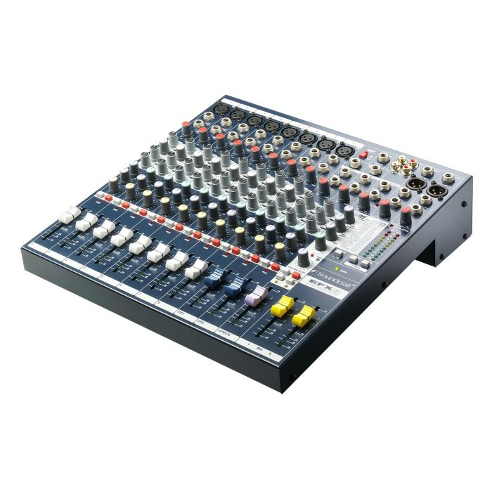 Soundcraft EFX8 Mixing Console Angle View