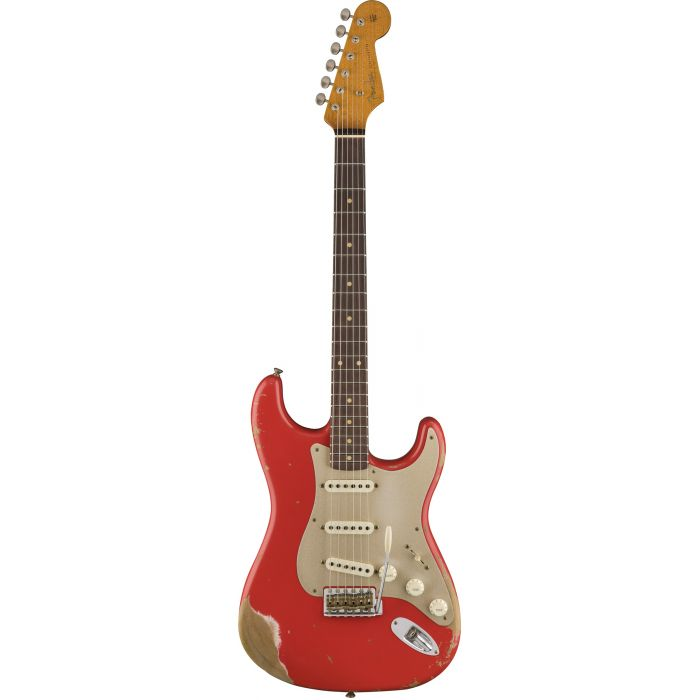Fender Custom Shop 2017 Limited Edition '59 Stratocaster Heavy Relic Aged Fiesta Red