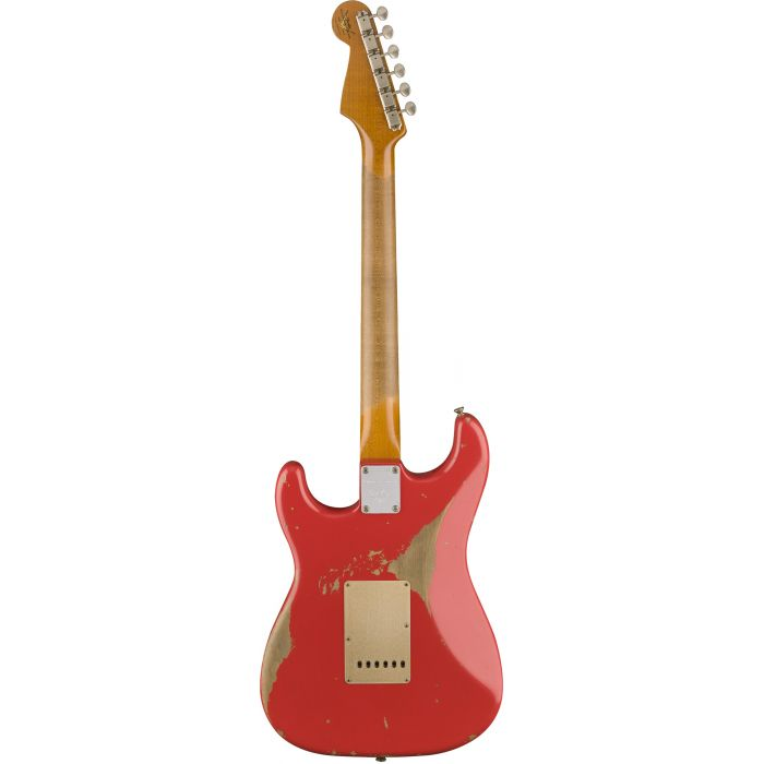 Fender Custom Shop 2017 Limited Edition '59 Stratocaster Heavy Relic Aged Fiesta Red Back