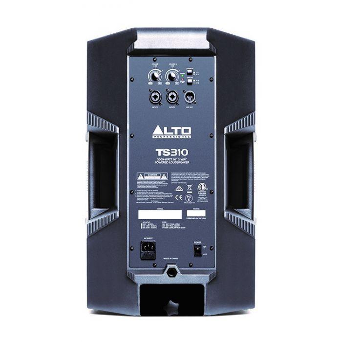 Alto Truesonic TS310 Powered Loudspeaker Rear