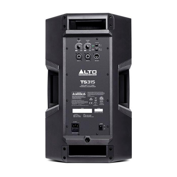 Alto Truesonic TS315 Powered Loudspeaker Rear