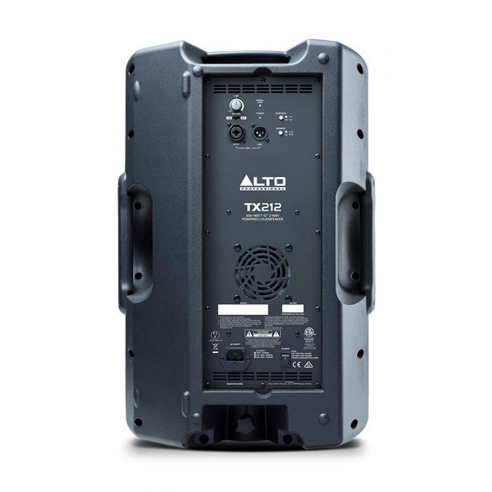 Alto TX212 600-Watt Active Loudspeaker Rear