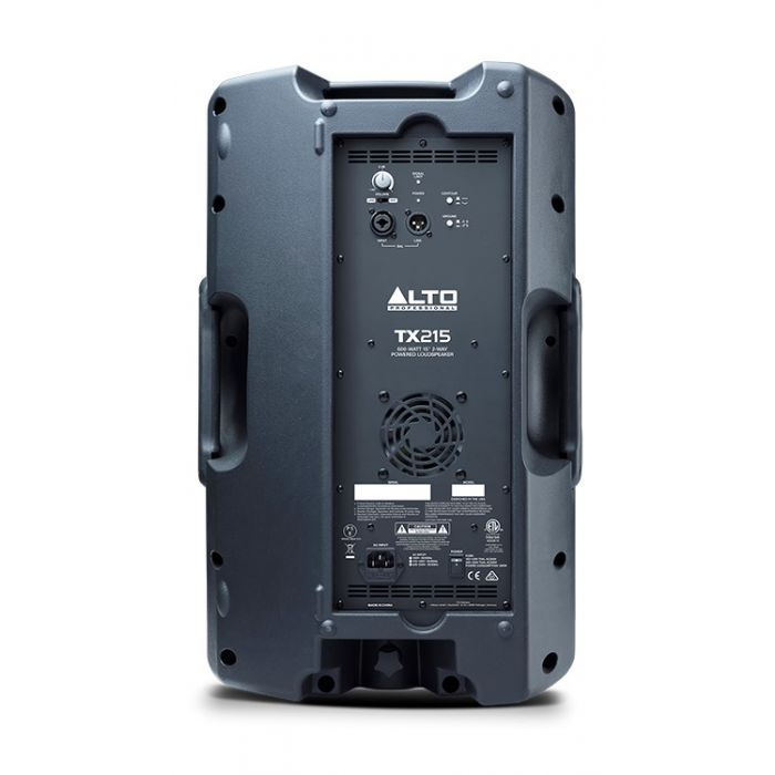 Alto TX215 600-Watt Active Loudspeaker Rear