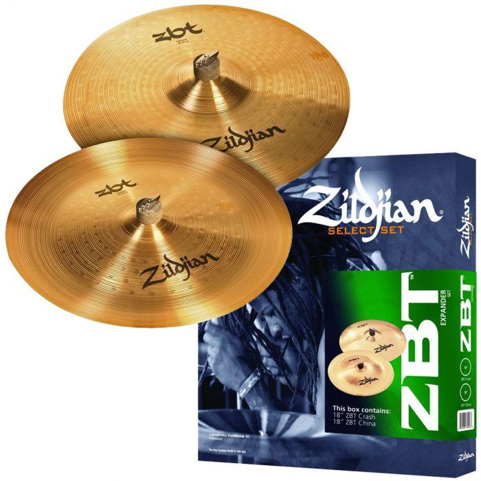 Zildjian ZBT Expander Cymbal Set