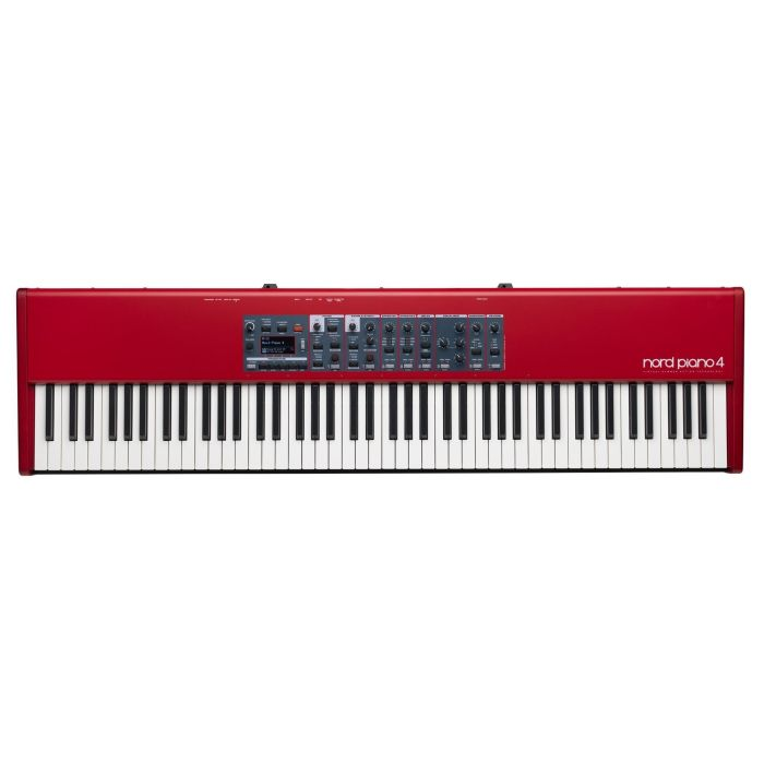 Top Down View of Nord Piano 4