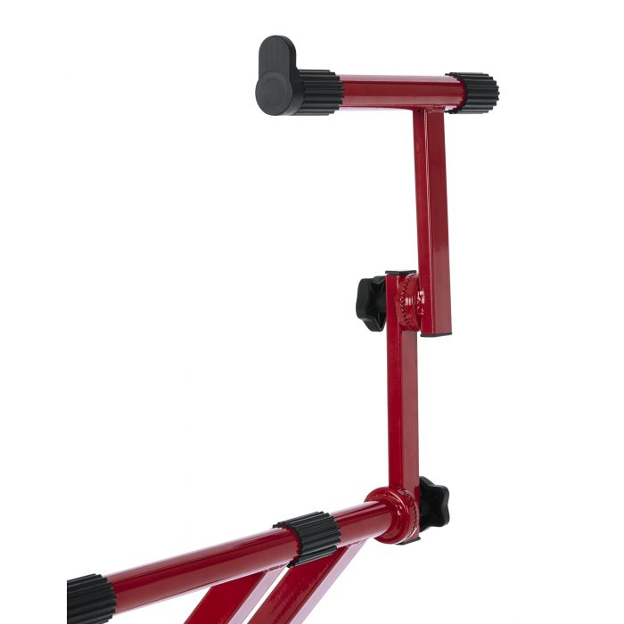 Gator Frameworks Deluxe 2-Tier Keyboard Stand Nord Red Second Tier