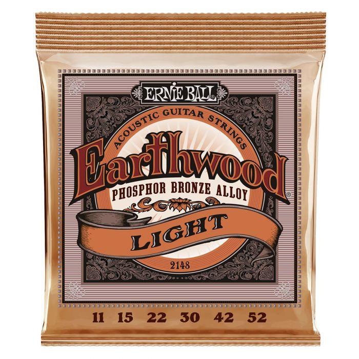 Ernie Ball 2148 Bronze Light Acoustic Guitar Strings .11-.52