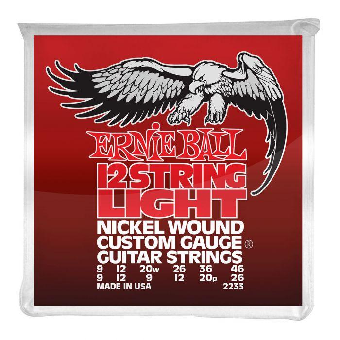 Ernie Ball 12 String Light Strings 9-46 2233