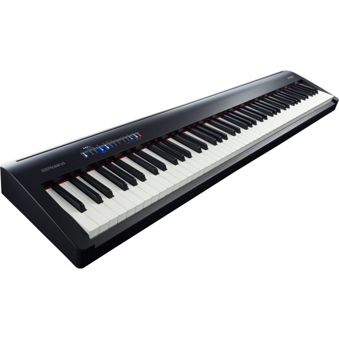 Roland FP-30 Digital Piano in Black Angle