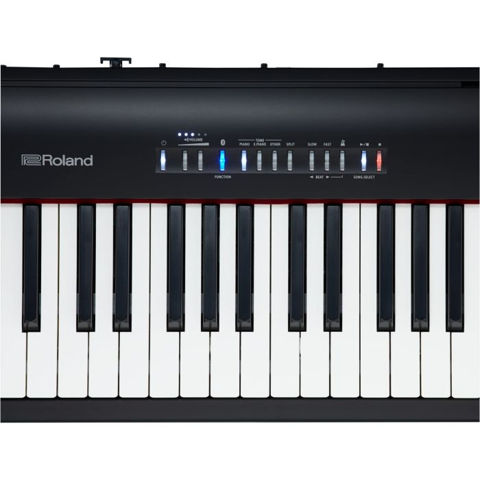 Roland FP-30 Digital Piano in Black Key Detail
