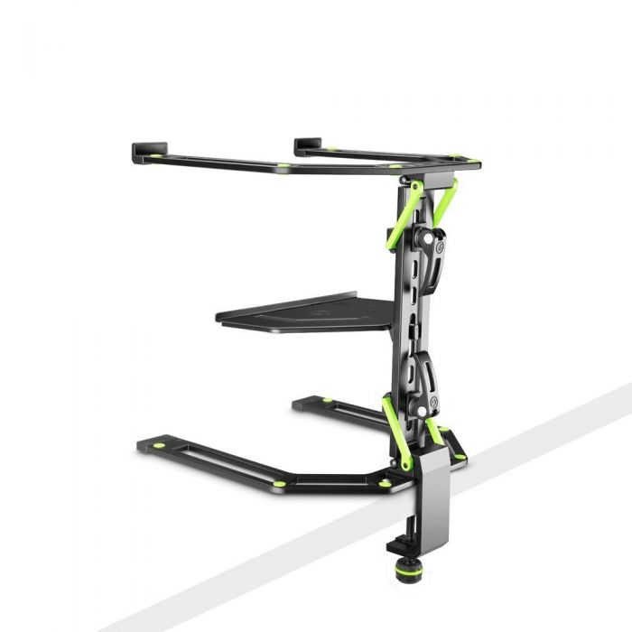 Gravity LTS 01 B Adjustable Laptop and Controller Stand Table Mounted