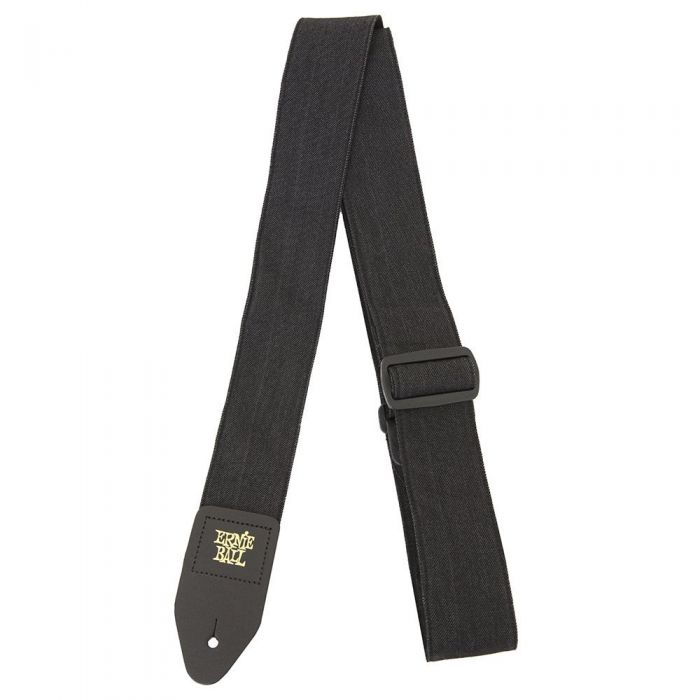 Ernie Ball Denim Strap Black Fade Guitar Strap