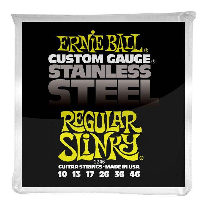 Ernie Ball Regular Slinky Stainless Steel Electric Guitar Strings
