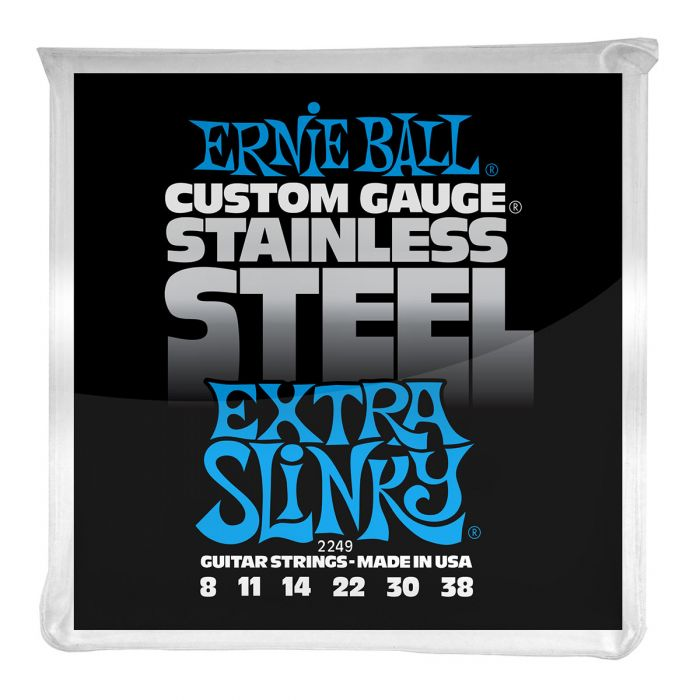 Ernie Ball Extra Slinky Stainless Steel Electric Guitar Strings