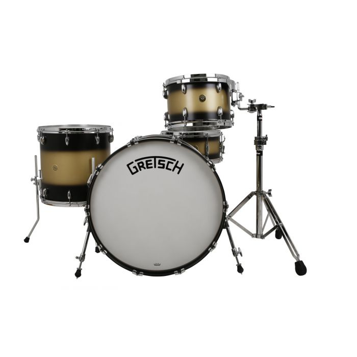 "Gretsch Broadkaster 24"" Satin Gold Black Duco Shell Pack"