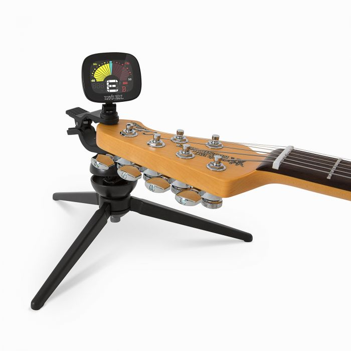 Ernie Ball CradleTune Clip-On Tuner and Neck Cradle